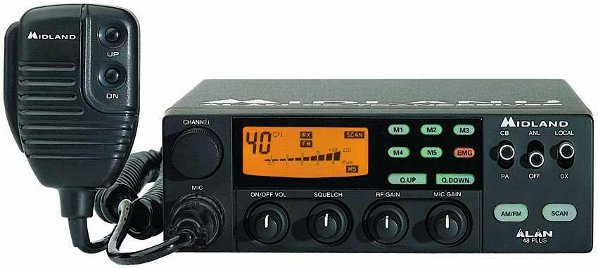 Инструкция радиостанция alan 48 ecce